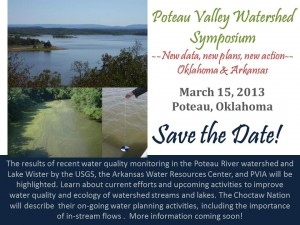 Poteau Valley Watershed Symposium, March 15, 2013